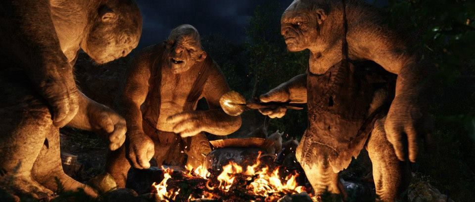 Trolls from the movie The Hobbit