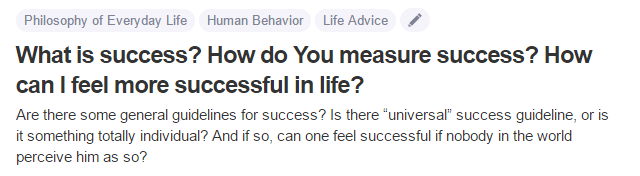 measure-of-success